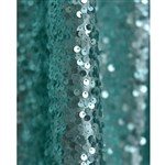 Aqua Sequin Backdrop - 9ft x 10ft