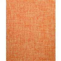 Pumpkin Orange Vintage Linen