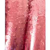 Pink Super Sequin Fabric Backdrop