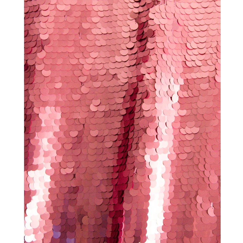 Pink Super Sequin Fabric Backdrop Backdrop Express