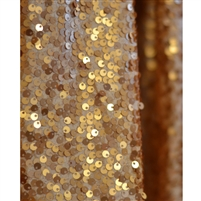 Copper Sequin Fabric Backdrop