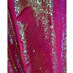 Cotton Candy Pink Mermaid Sequin Fabric Backdrop