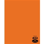 Orange Seamless Backdrop Paper