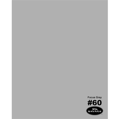 Focus Gray Seamless Backdrop Paper