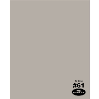 TV Gray Seamless Backdrop Paper