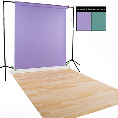 Teal, Orchid & Natural Beech Seamless / Floordrop Kit