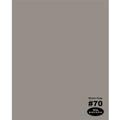 Storm Gray Seamless Backdrop Paper
