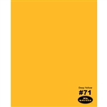Deep Yellow Seamless Backdrop Paper