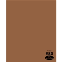 Cocoa Seamless Backdrop Paper