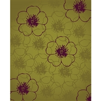 Hibiscus Flower  Printed Backdrop