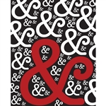 Loving Red Ampersand Printed Backdrop