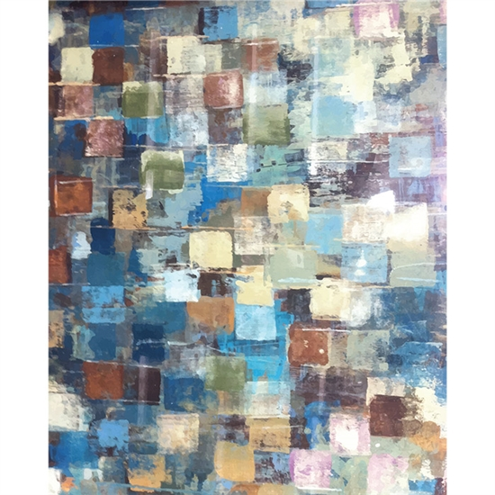 Paint Squares Printed Backdrop