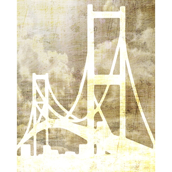 Golden Gate Bridge Printed Backdrop