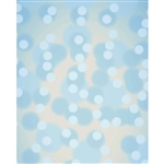 Aqua Blue Bokeh Printed Backdrop