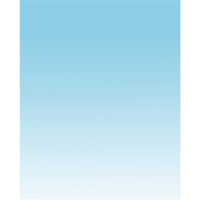 Baby Blue Linear Gradient Backdrop
