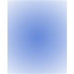 Bright Blue Radial Gradient Backdrop