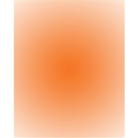 Orange Radial Gradient Backdrop
