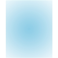 Baby Blue Radial Gradient Backdrop