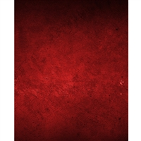 Crimson Red Mottled Printed Backdrop