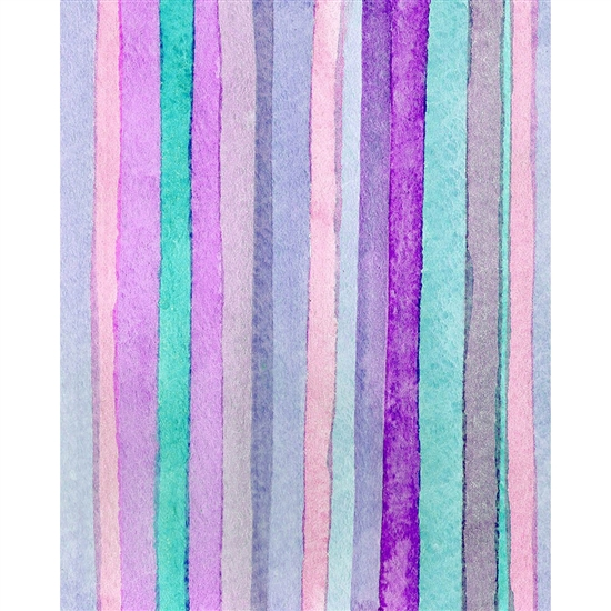 Violet Stripes Printed Backdrop