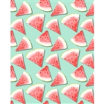 Summer Watermelon Printed Backdrop
