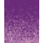 Purple Halftone Dot Printed Backdrop