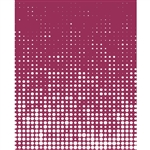 Pink & White Halftone Printed Backdrop
