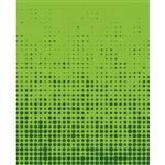 Green Halftone Printed Backdrop