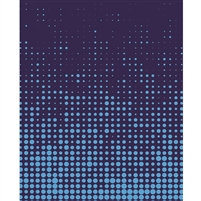 Dark Blue Halftone Printed Backdrop