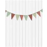 Holiday Bunting Printed Backdrop