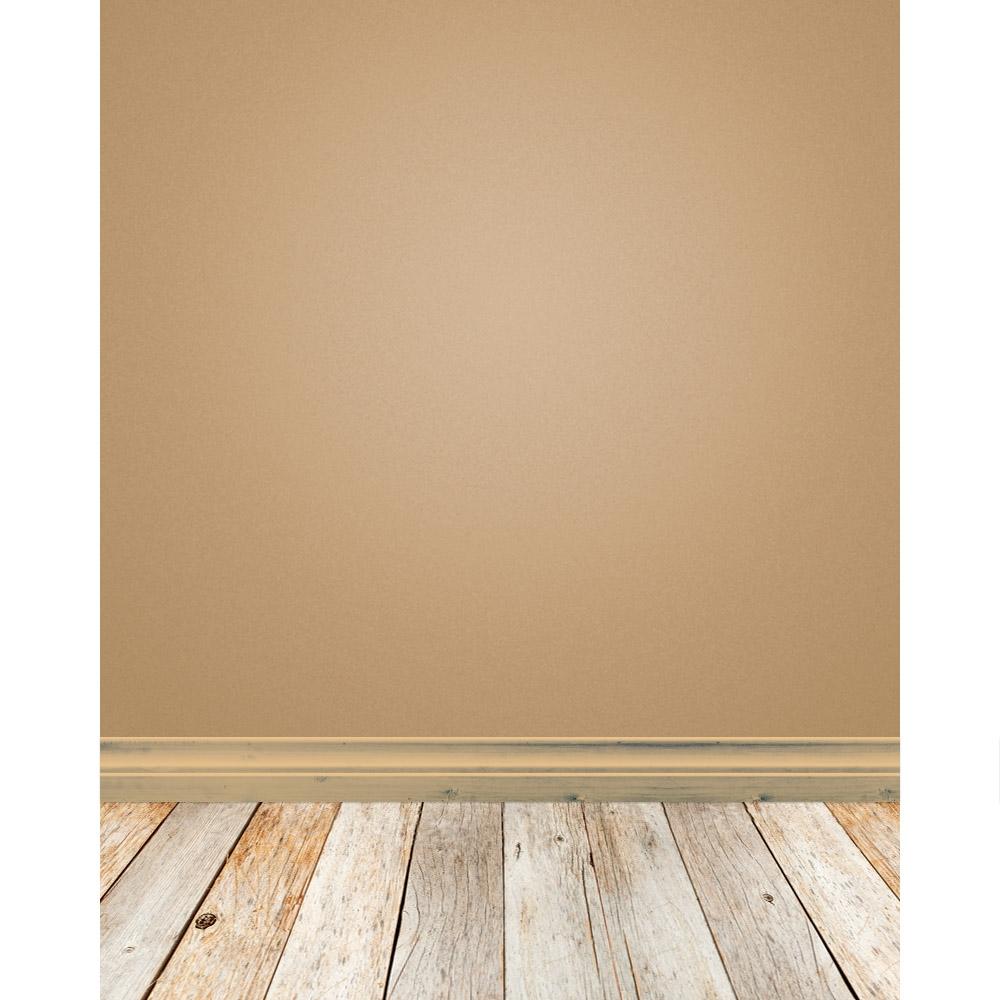Mocha Woodgrain Baseboard Slap | Backdrop Express