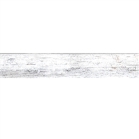 White Distressed Baseboard Slap