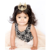 Elegant Mini Lace Crown