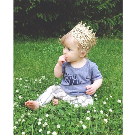 Little King Lace Crown