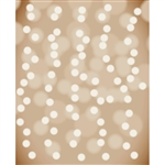 Hazelnut Bokeh Printed Backdrop