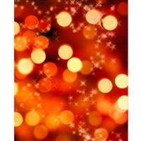 Glimmering Lights Printed Backdrop