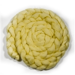10ft Pale Yellow Wool Braid