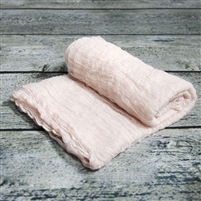 Soft Pink Cheesecloth