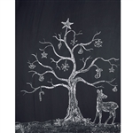Holiday Scene Printed Backdrop