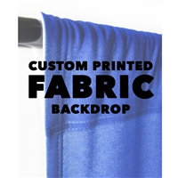 Custom Printed  Fabric Backdrop