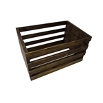 Dark Stained Wood Posing Crate