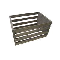 Gray Stained Posing Crate