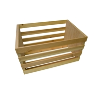 Natural Wood Posing Crate
