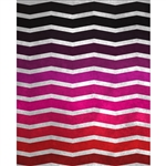 Distressed Pink Chevron Printed Backdrop