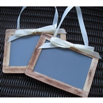 Engagement Chalkboard Photo Props - Set of 2