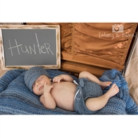 Barnwood Chalkboard Photo Prop