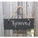 Rustic Hanging Chalkboard Photo Prop