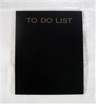 To Do List Chalkboard Photo Prop
