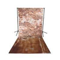 Grunge Floor Extended Printed Backdrop
