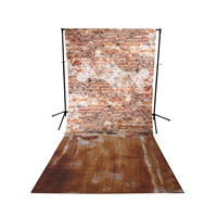 Grunge Floor All-in-One Printed Vinyl Backdrop